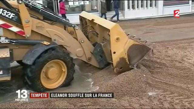 Tempête : Eleanor souffle sur la France