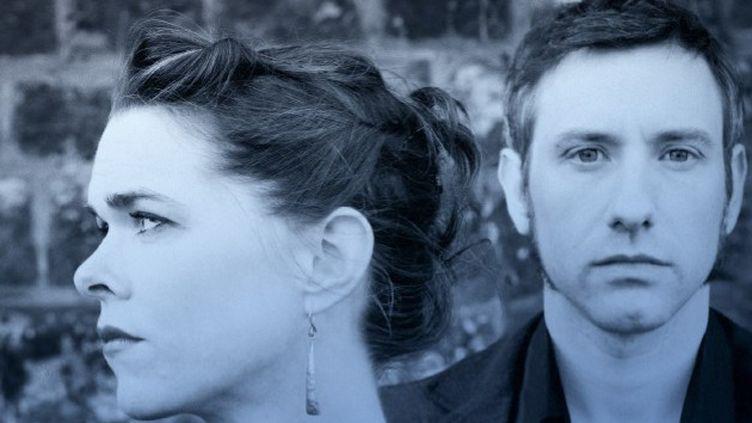 "Bobby & Sue sur la pochette de ""Spinning Mind""  (R.Monfourny)"