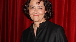 La chanteuse et cheffe d'orchestre Nathalie Stutzmann aux Victoires de la musique l 20 février 2012 (TIBOUL / MAXPPP)
