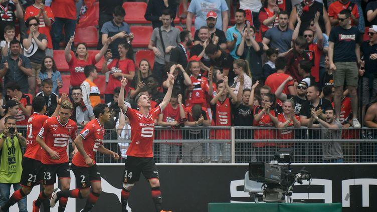 Rennes et le frisson de l'Europe (DAMIEN MEYER / AFP)
