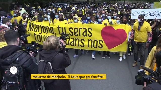 Ivry-sur-Seine : une marche silencieuse en la mémoire de Marjorie, adolescente de 17 ans tuée