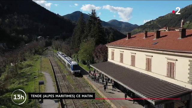Vallée de la Roya : sept mois après la tempête Alex, le train Nice-Tende est de retour