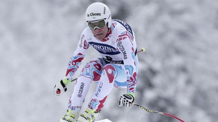 Le skieur français Johan Clarey