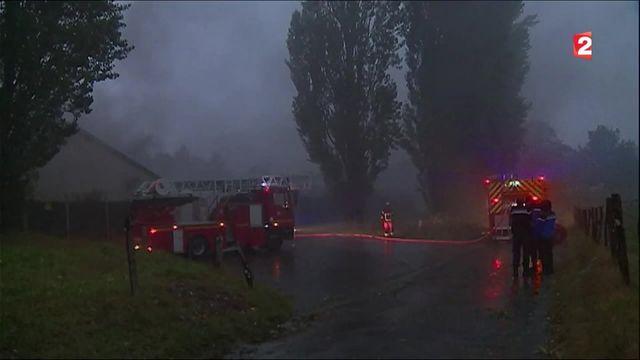 Oloron-Sainte-Marie : incendie d'un transformateur électrique