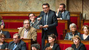 Thomas Thévenoud, député non-inscrit à l'Assemblée nationale le 16 juin 2015 (WITT / SIPA)