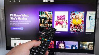 La plateforme de streaming HBO Max, de l'entreprise WarnerMedia, s'est lancée le 27 mai aux Etats-Unis. (RICCARDO MILANI / HANS LUCAS)