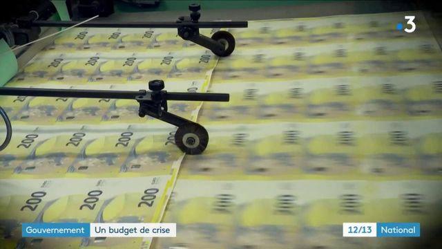 Économie : le gouvernement a présenté un budget de crise