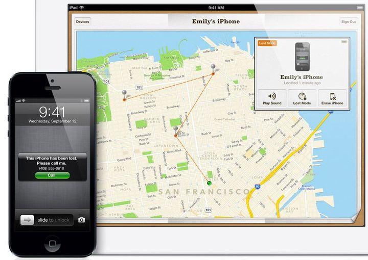 localiser iPhone ( FRANCETV INFO)
