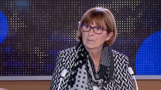 Présidente de l'association Contact Ile-de-France, FrançoiseRuggeriest invitée sur le plateau du 23 heures de Franceinfo dimanche 16 mai. (FRANCEINFO)
