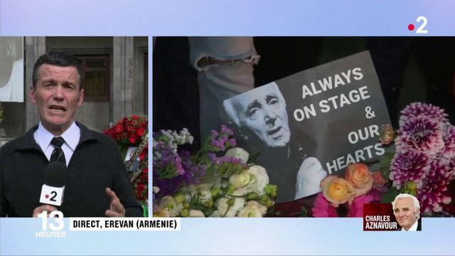 Mort de Charles Aznavour : un héros national pour l'Arménie