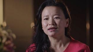 La journaliste australienne Cheng Lei, dans une image d'archive d'une vidéo diffusée le 1er septembre 2020. (AFP PHOTO / AUSTRALIA'S DEPARTMENT OF FOREIGN AFFAIRS)