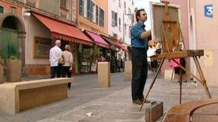 Ajaccio dans le regard du peintre Jean-Marc Idir  (Culturebox)
