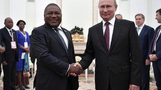 Vladimir Poutine et Filipe Nyusi à Moscou, août 2019 (ALEKSEY NIKOLSKYI / SPUTNIK)