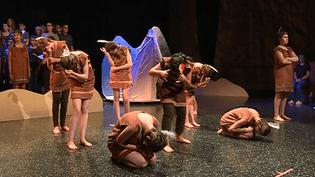 """Adaptation des """"Indiens sont à l'Ouest"""" de Juliette dans une comédie musicale signée  (France 3 / Culturebox / capture d'écran)"""