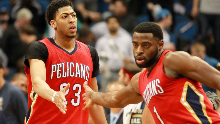 Les Pelicans joueront leur qualification pour les Playoffs contre San Antonio (ANDY KING/AP/SIPA / AP)