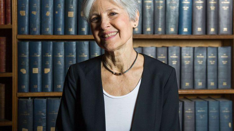 Jill Stein, candidate écologiste à l'élection présidentielle américaine, ici à Oxford (Royaume-Uni), le 24 février 2016. (ROGER ASKEW/SHUTTERSTOC/SIPA / REX)