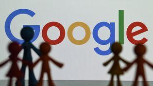 Le logo de Google sur un écran, en décembre 2020. (illustration) (MAXPPP)