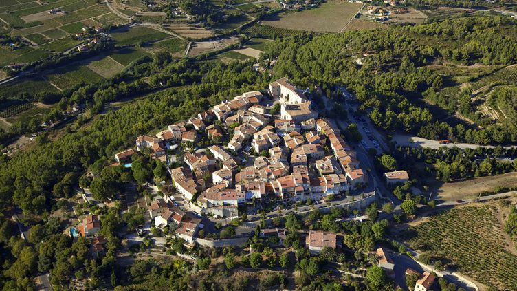 Le Castellet, commune où l'accident a eu lieu. (MOIRENC CAMILLE / HEMIS.FR / AFP)