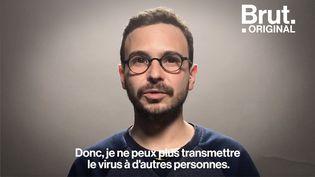 À 26 ans, Loïc a appris qu'il était séropositif. Pendant 3 ans, sa colocataire Iris Lebrun a filmé son quotidien. (BRUT)