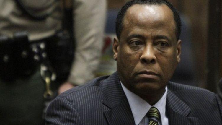 Le médecin personnel de Mickael Jackson, Conrad Murray. (AFP)
