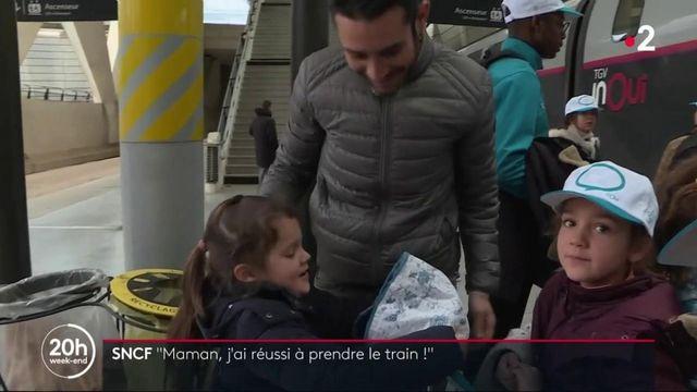 Grève à la SNCF : les enfants arrivés, les parents soulagés