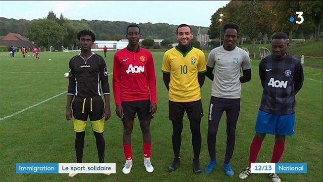 Pas-de-Calais : quand un club de football intègre des demandeurs d'asile