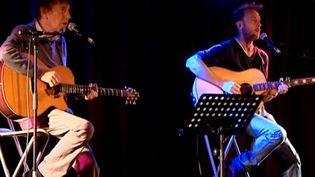 Alain et Pierre Souchon sur scène à Strasbourg  (France3/culturebox)