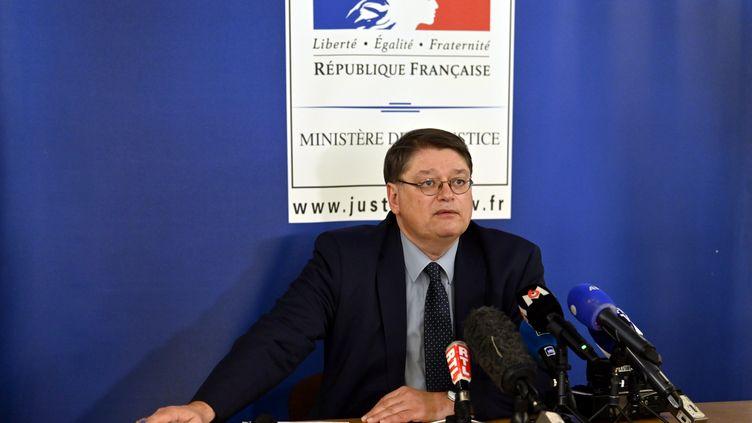Le procureur de la République de Nancy, François Pérain, le 23 avril 2021 à Nancy (Meurthe-et-Moselle). (MAXPPP)