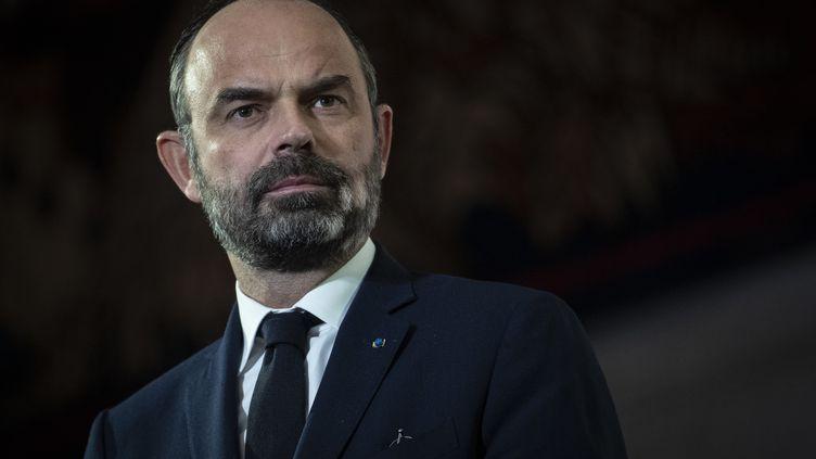 Le Premier ministre expose sa réforme des retraites devant le Conseil économique, social et environnemental le 11 décembre 2019 à Paris. (THOMAS SAMSON / AFP)