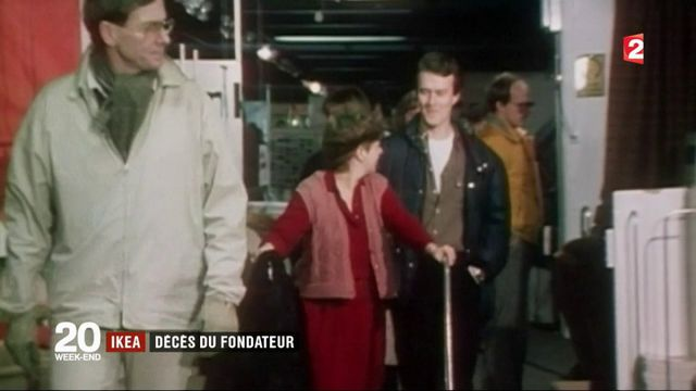 Ikea : Ingvar Kamprad, fondateur de la marque, est décédé