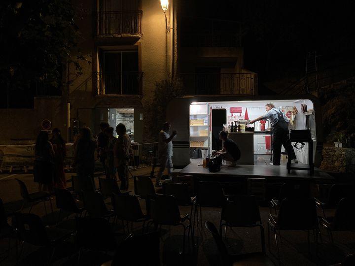 """""""La cuisine des auteurs"""", Treilles, le 23 juin 2021 (Laurence Houot / FRANCEINFO CULTURE)"""