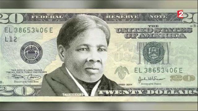 États-Unis : Harriet Tubman, première femme noire sur un billet américain