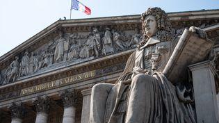 L'Assemblée nationale, à Paris, le 21 juillet 2021. (RICCARDO MILANI / HANS LUCAS / AFP)