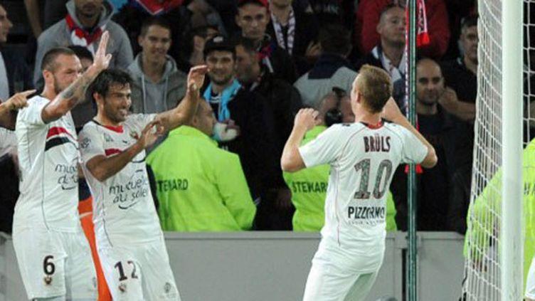 Cvitanich et Brüls et les Niçois se congratulent