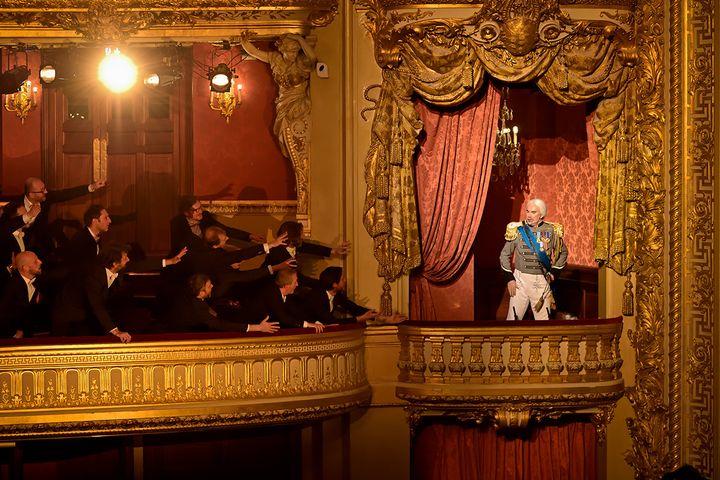 Le Concert de gala pour salle vide, enregistré à l'Opéra-Comique par Michel Fau et Marie-Nicole Lemieux (STEFAN BRION)