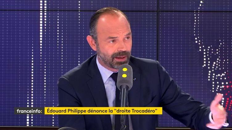 Edouard Philippe le 16 avril 2019. (FRANCEINFO)