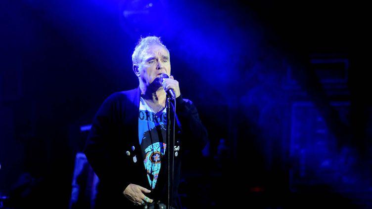 Le chanteur britannique Morrissey en concert à Sao Paulo, au Brésil, en 2018. (DORIVAL ROSA / BRAZIL PHOTO PRESS)