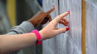 Le taux de réussite au baccalauréat 2012 est en légère baisse à 84,5%. (FREDERICK FLORIN / AFP)