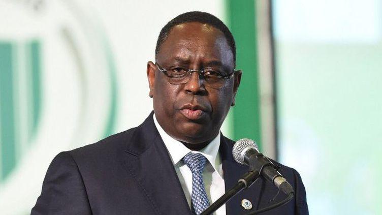 Le président sénégalais Macky Sall a donné des instructions fermes pour qu'il soit mis fin, dans les plus brefs délais, à la mendicité organisée des enfants. (Photo AFP/Pius Utomi Ekpei)