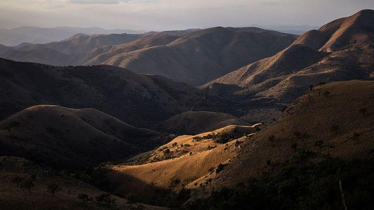 Les montagnes de Barberton Makhonjwa. (WIKUS DE WET / AFP)