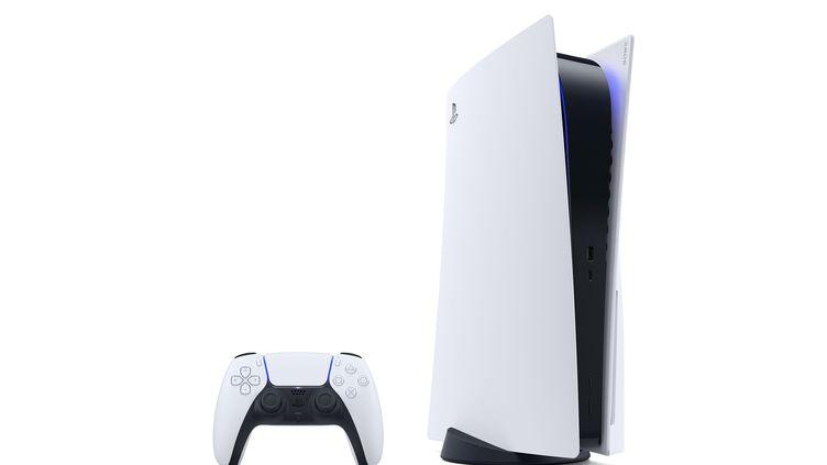 La nouvelle console de Sony, la playstation 5. (AFP PHOTO / SONY INTERACTIVE ENTERTAINMENT INC)