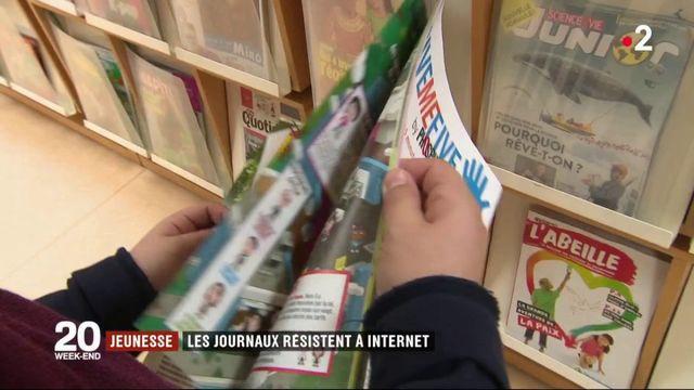 La presse jeunesse résiste à Internet