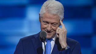 L'ancien président américain Bill Clinton, le 26 juillet 2016 à Philadelphie (Etats-Unis). (SIPA NY / SIPA)