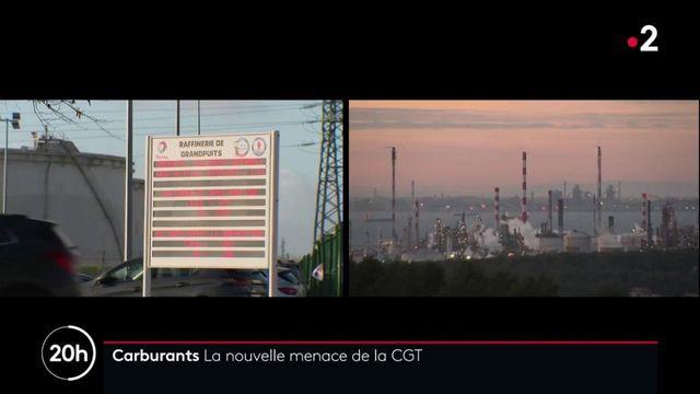Carburants : la CGT menace de bloquer toutes les raffineries