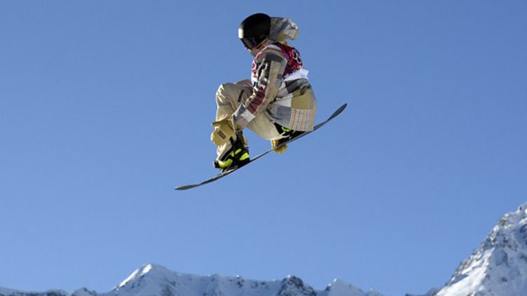 Sage Kotsenburg saute sur l'or en Slopestyle (FRANCK FIFE / AFP)