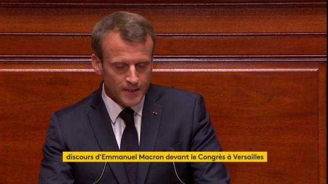 """""""Je sais que je ne réussis pas tout"""", lance Macron aux parlementaires"""
