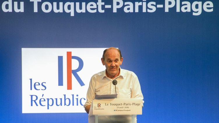 Daniel Fasquelle, trésorier de Les Républicains (DENIS CHARLET / AFP)
