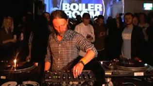 Thom Yorke aux platines du Boiler Room  (Boiler Room)