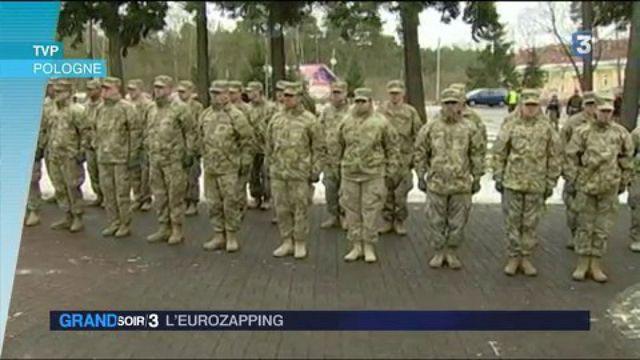 Eurozapping : des blindés américains débarquent Pologne
