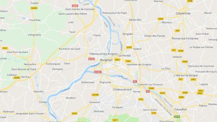 Avignon, théâtre de deux exécutions en une semaine, le 23 décembre 2018. (GOOGLE MAPS)